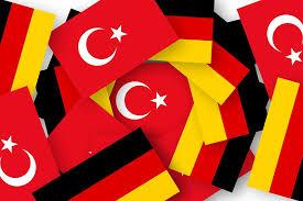 Flagge Deutschland Türkei