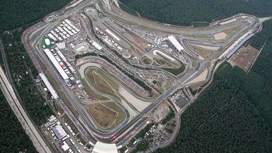 Der Hockenheimring bietet 4.574 km Rennstrecke
