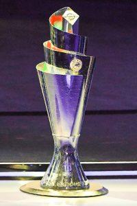 Der Pokal der UEFA Nations League