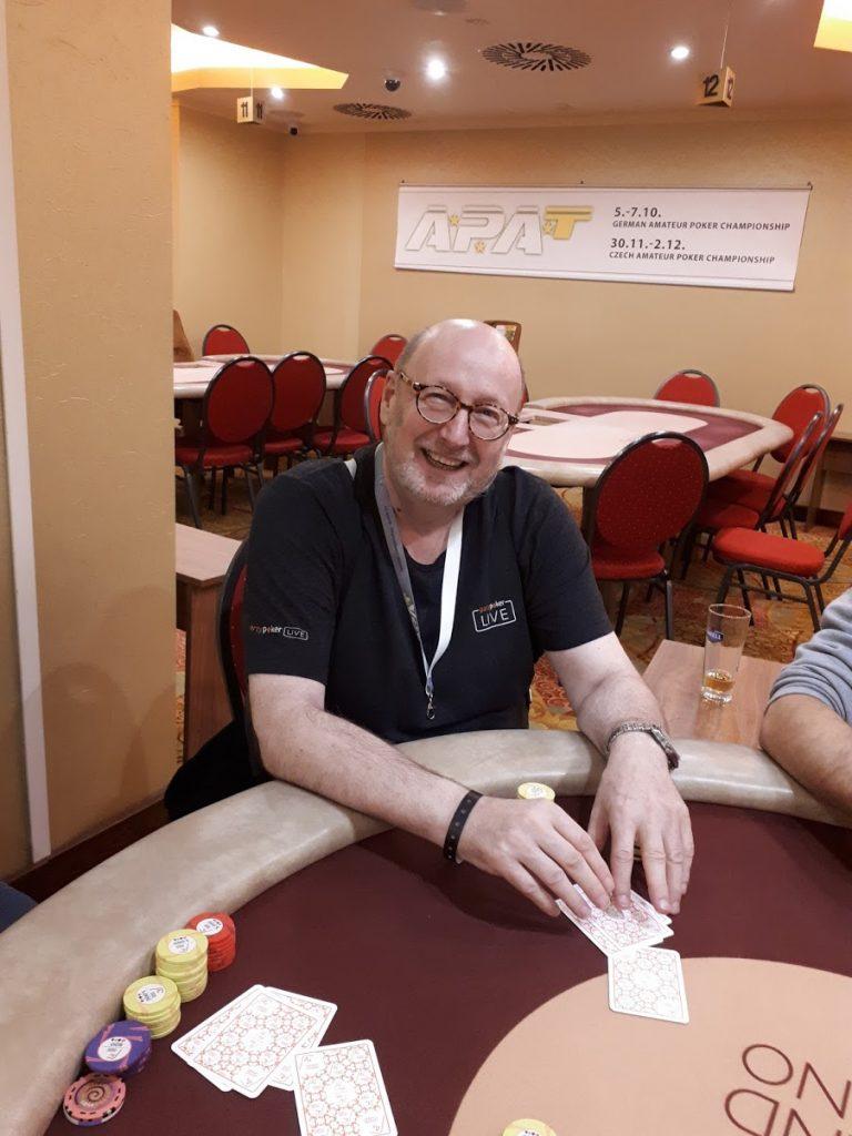 Pokerspieler Gerhard Onken aus Berlin