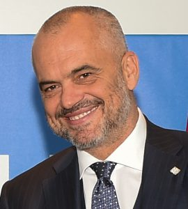 Albaniens Premierminister Edi Rama