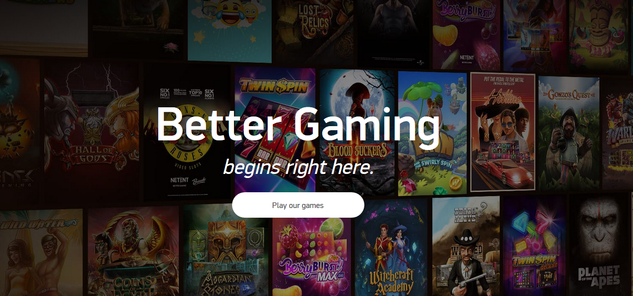 NetEnt Better Gaming Slots Spielautomaten