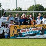 """Drei Jahre """"Willkommen im Fußball"""" für Flüchtlinge: Die DFL zieht Bilanz"""