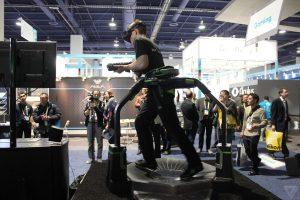 VR-Laufband