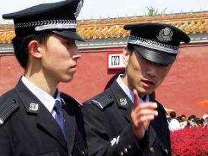 Polizisten China