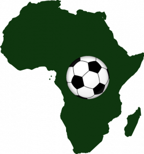 Umriss Afrika, Fußball