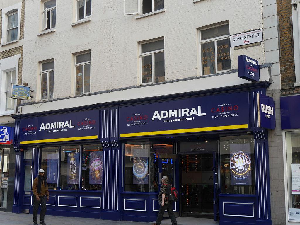 Admiral Buchmacher London