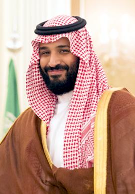Saudi Arabiens Prinz Mohammad bin Salman Al Saud