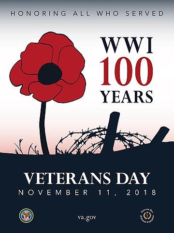 Plakat Veterans Day