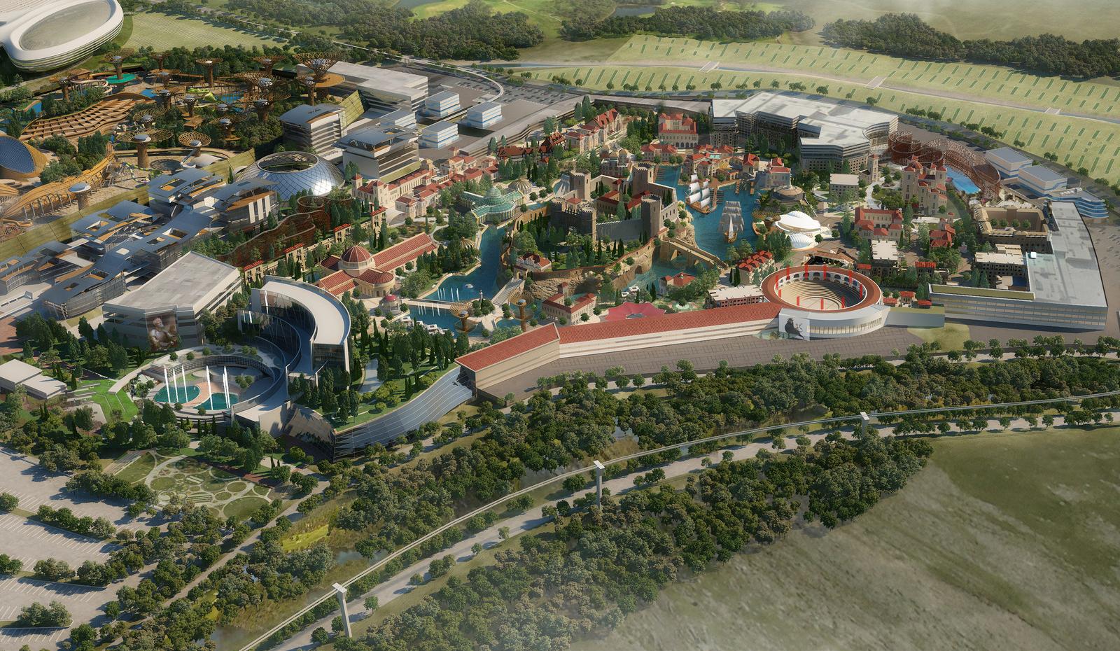 Plan Elysium City