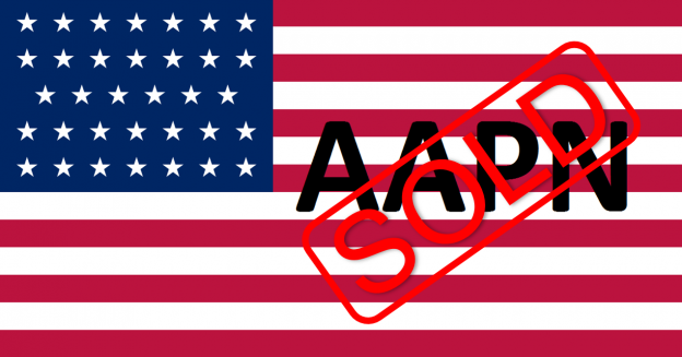 Flagge USA, sold, AAPN