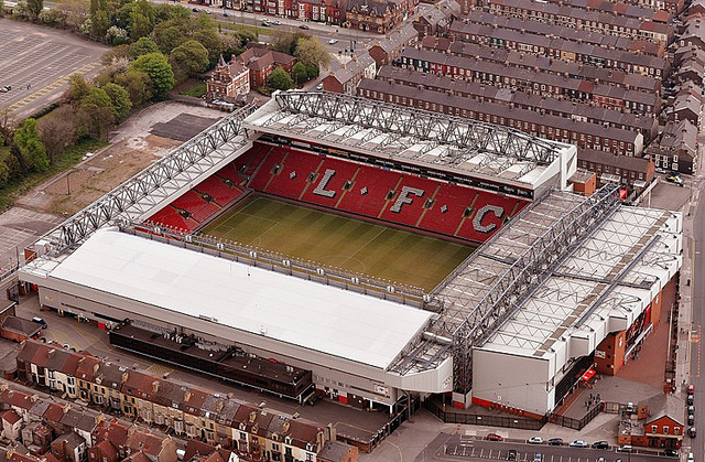 Liverpool Stadion Anfield Road