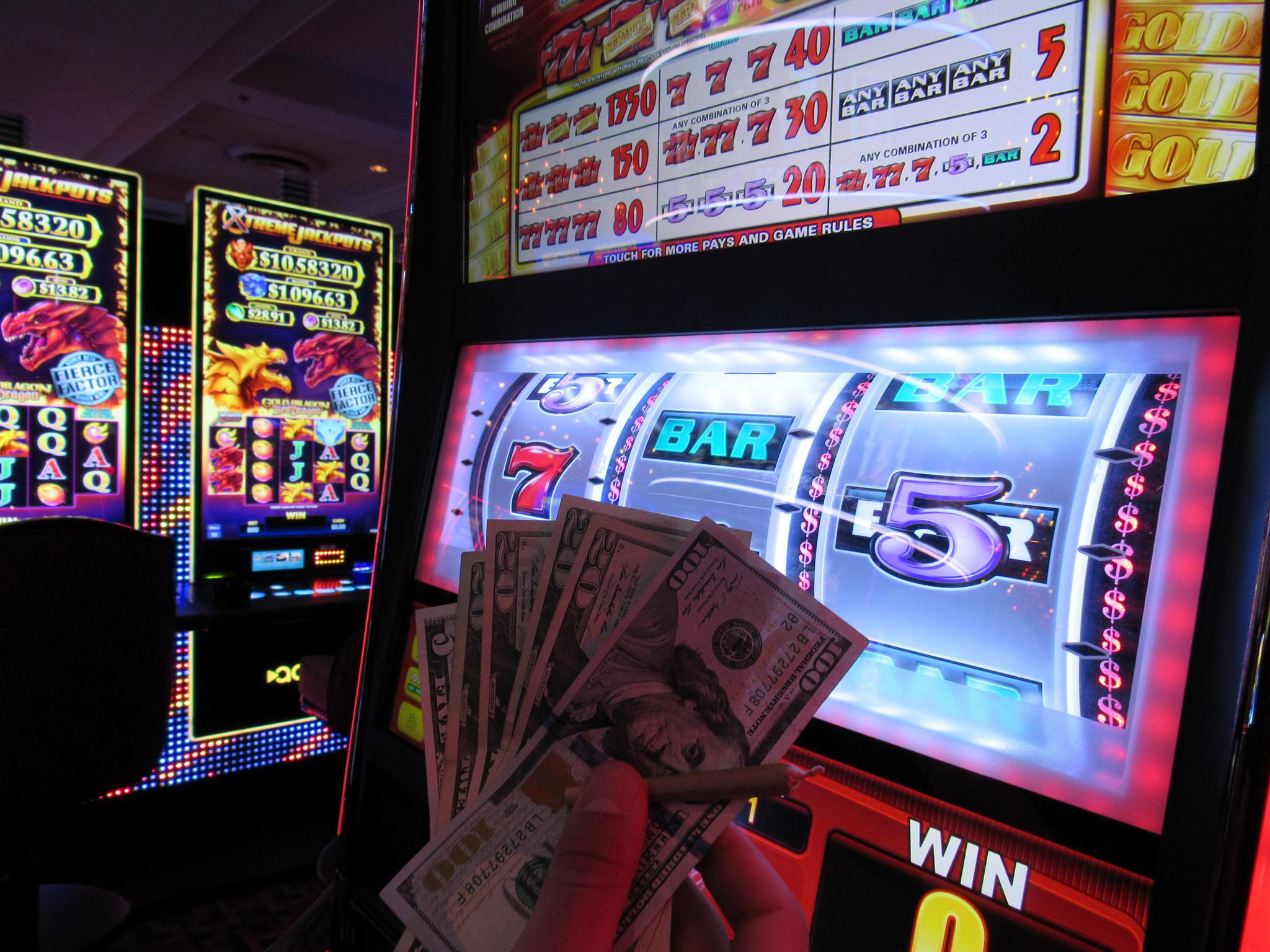 Spielautomaten Geld