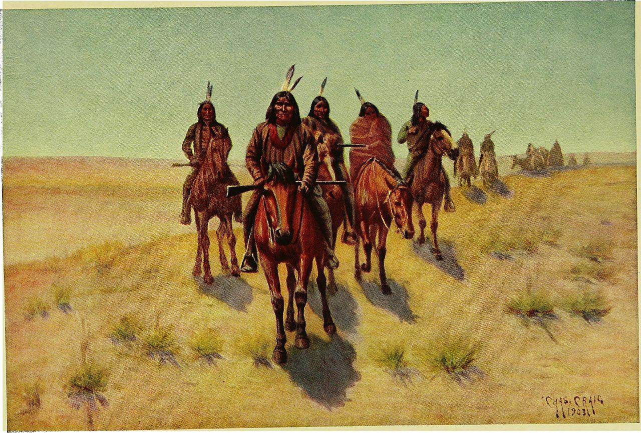 Indianer, Pferde
