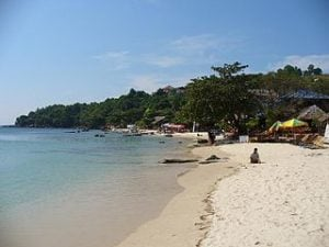 Serendipity Beach bei Sihanoukville
