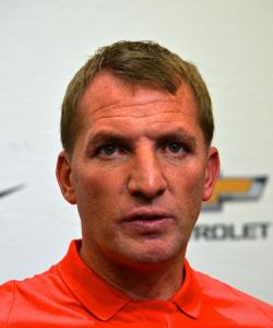 Trainer Brendan Rodgers