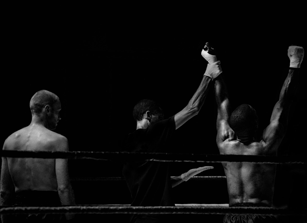 Boxer Siegerehrung