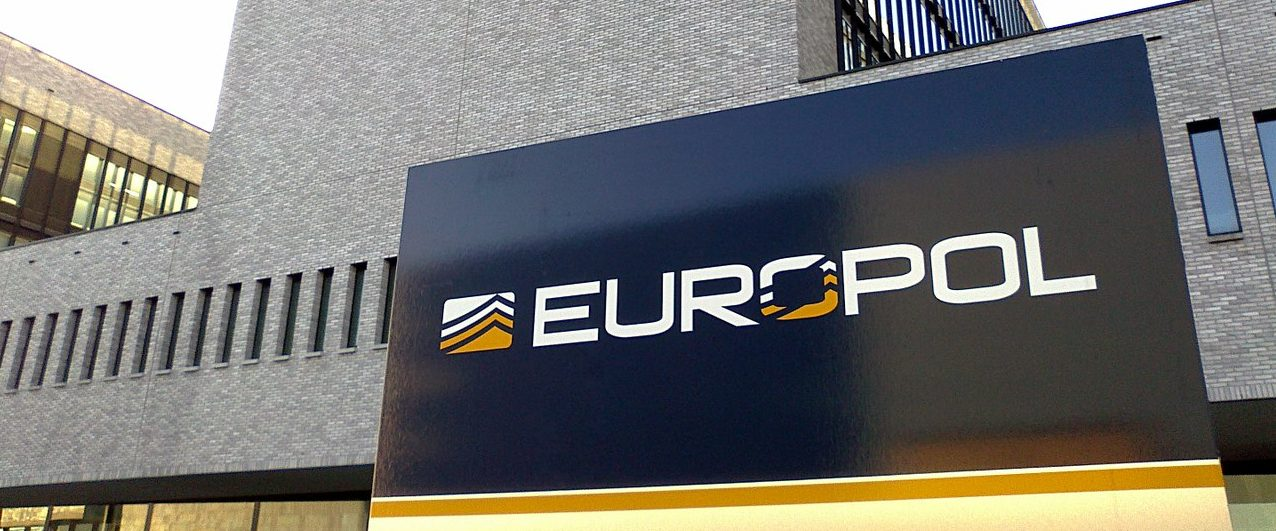 Das Europol-Gebäude in Den Hague