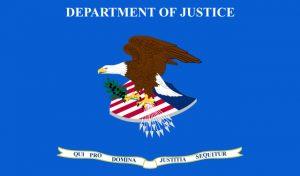 Logo US-Justiz