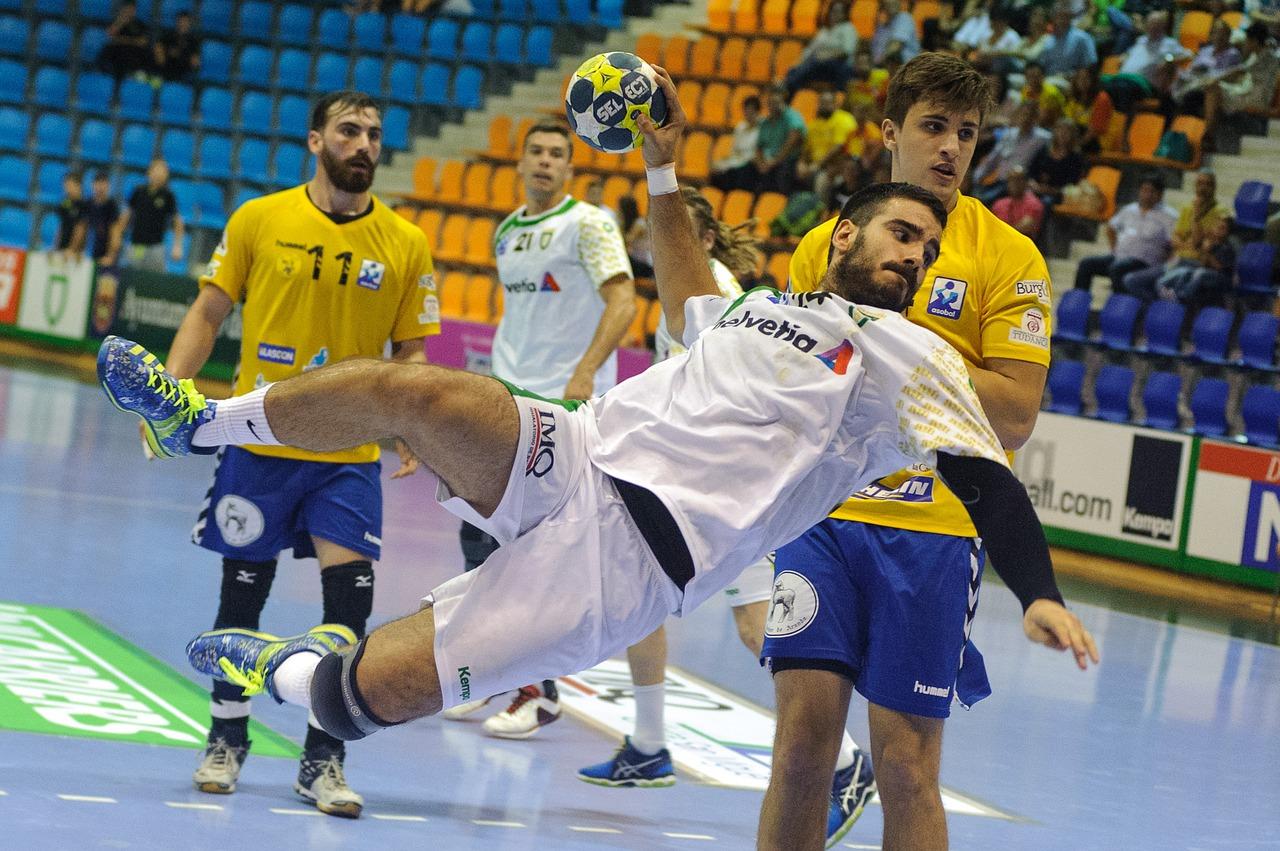 Handball-Spiel
