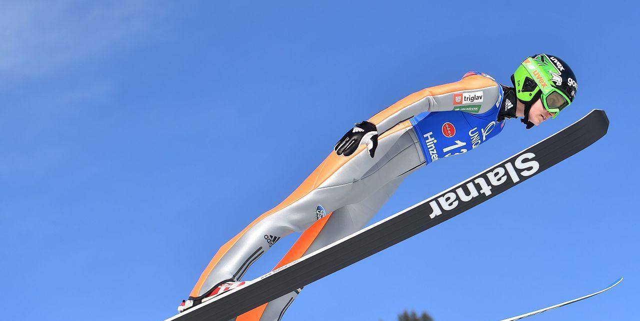 Eva Logar, Skispringerinnen