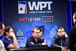 Denys Shafikov beim Poker