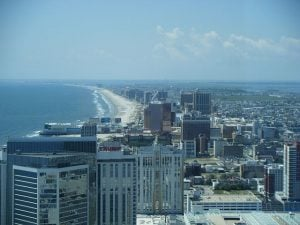 Blick über Atlantic City