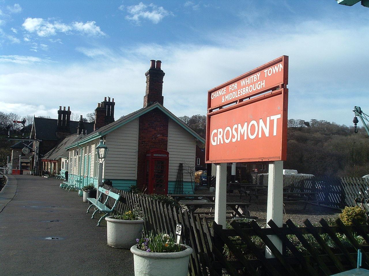 Bahnhof Grosmont