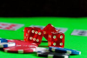 Würfel, Pokerchips
