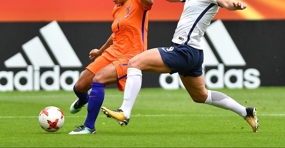 Fußballerinnen Beine