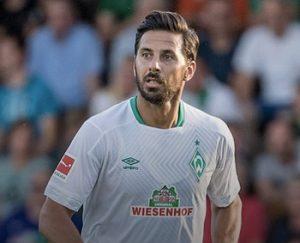 Fußballspieler Claudio Pizarro