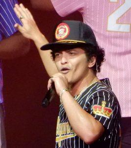 Sänger Bruno Mars