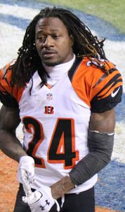 "Footballer Adam ""Pacman"" Jones"