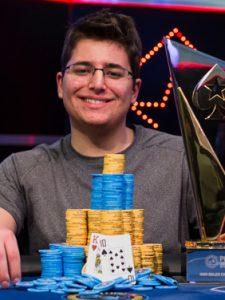 Schindler bei der WSOP 2014