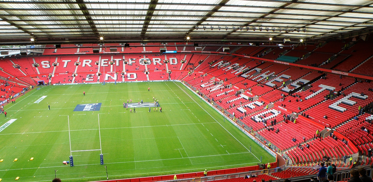 Old Trafford am Tag