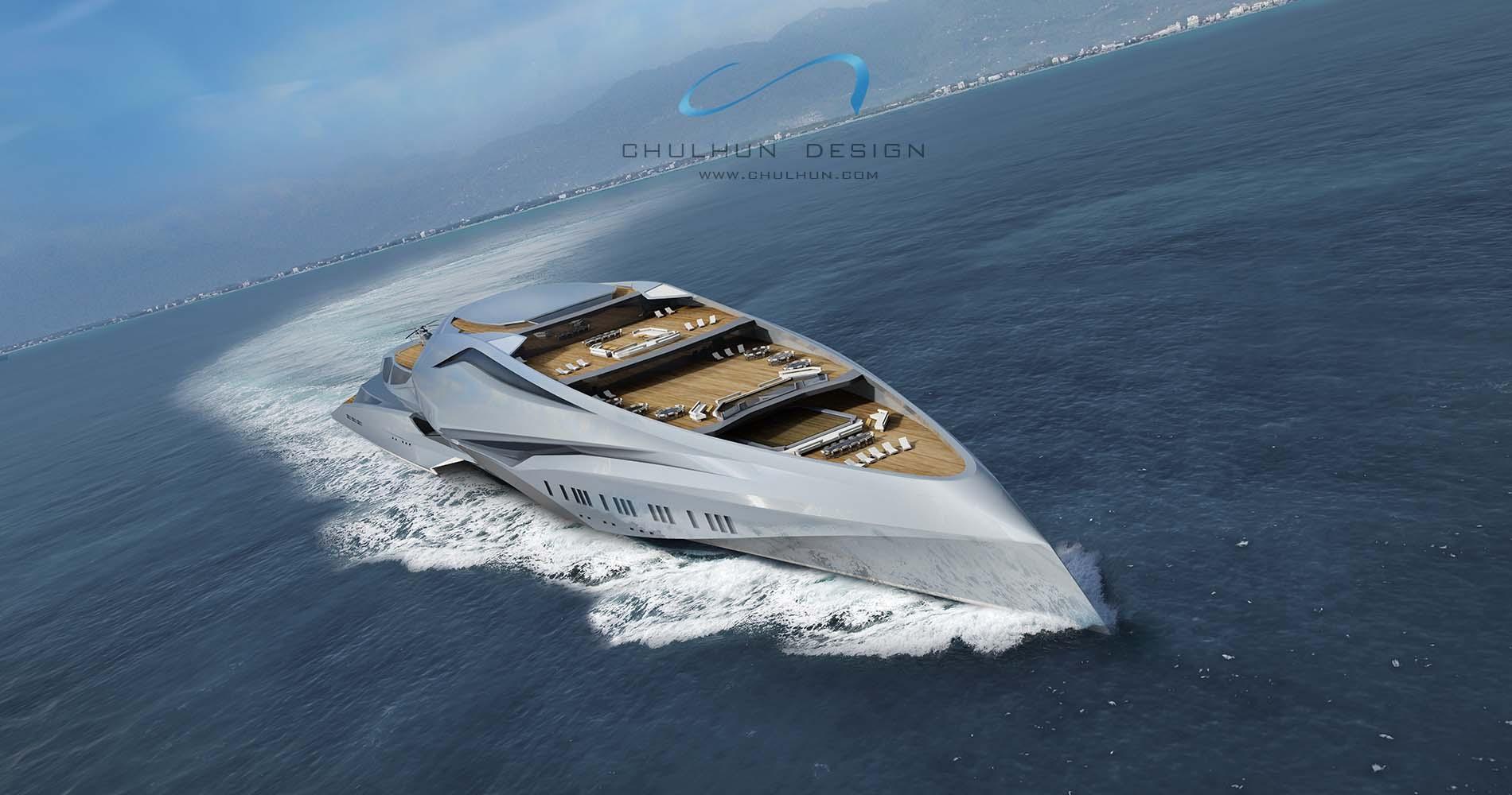 Jacht Valkyrie von Chulhun Design