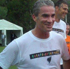 Al-Araibi Unterstützer und Ex-Fußballer Craig Foster
