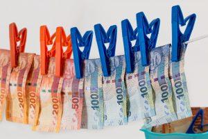 Geld, Wäscheleine