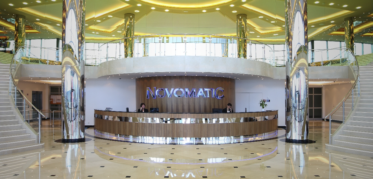 Eingangsbereich Novomatic
