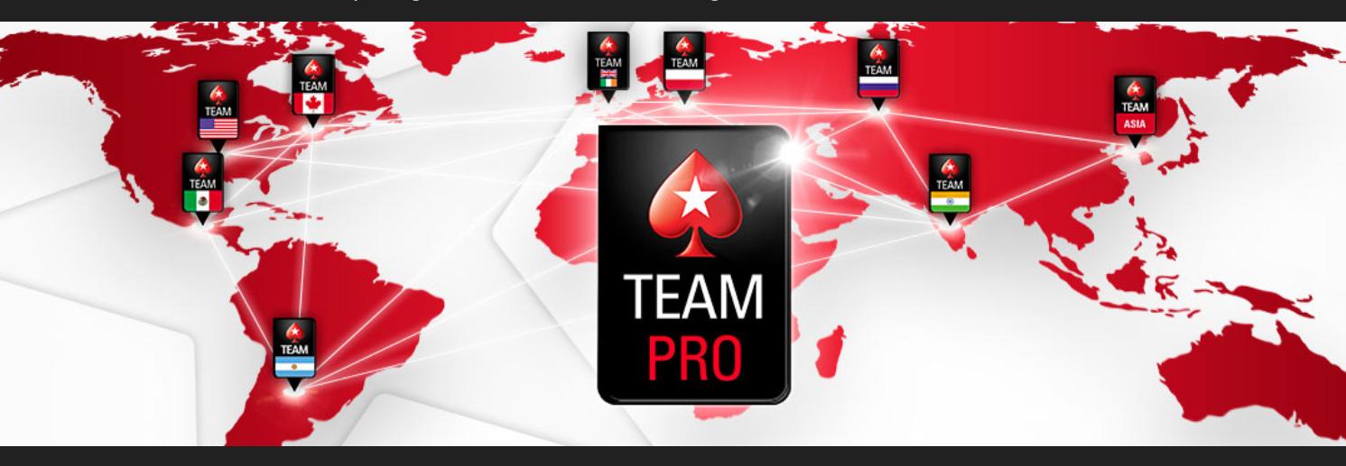 PokerStars Pro Logo, Weltkarte