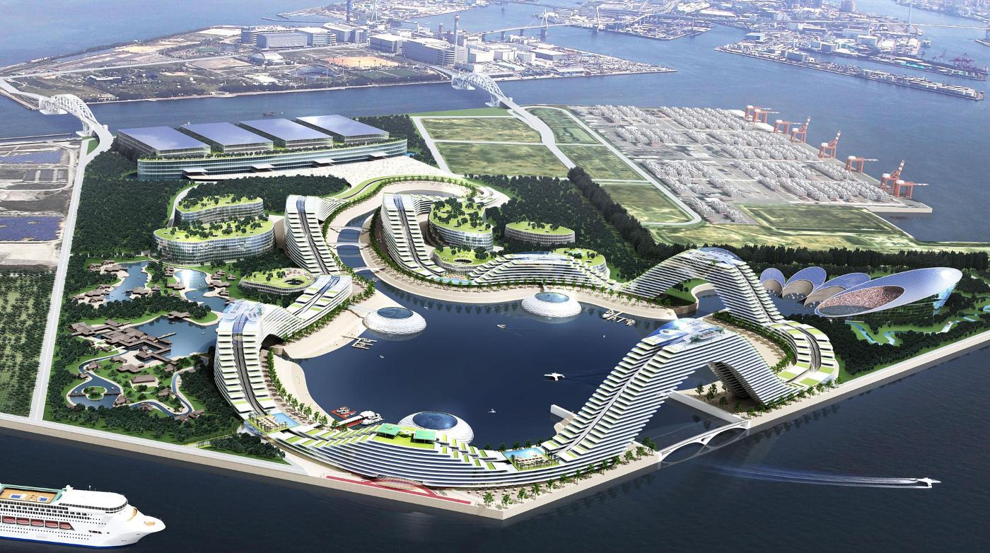 Modell Casino-Resort Japan