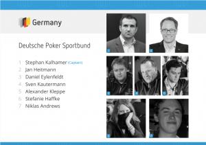 die deutsche Mannschaft Nations Cup 2019