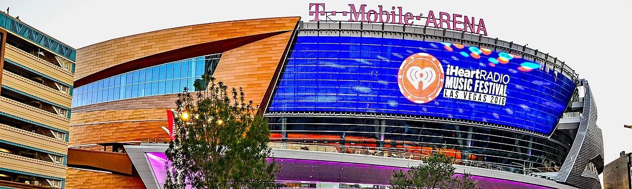 T-Mobile Arena bei Tag