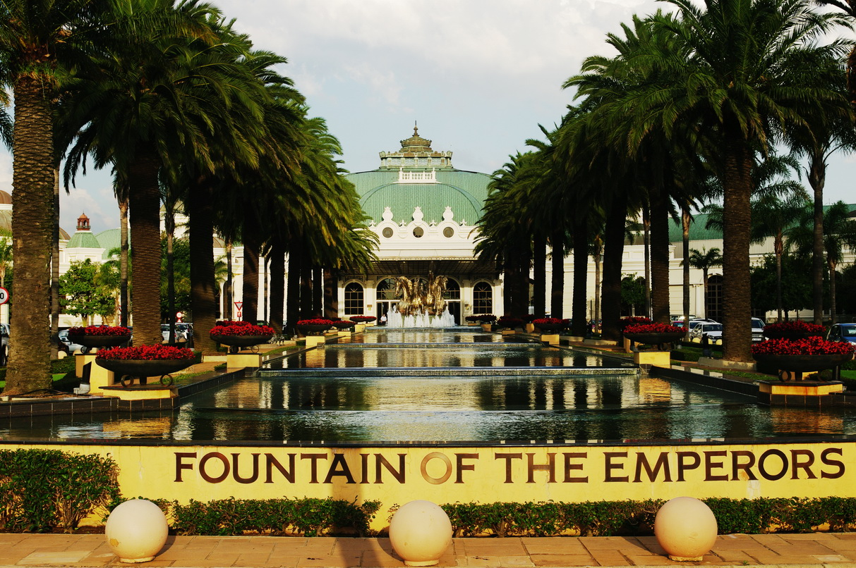 Emperors Palace Springbrunnen