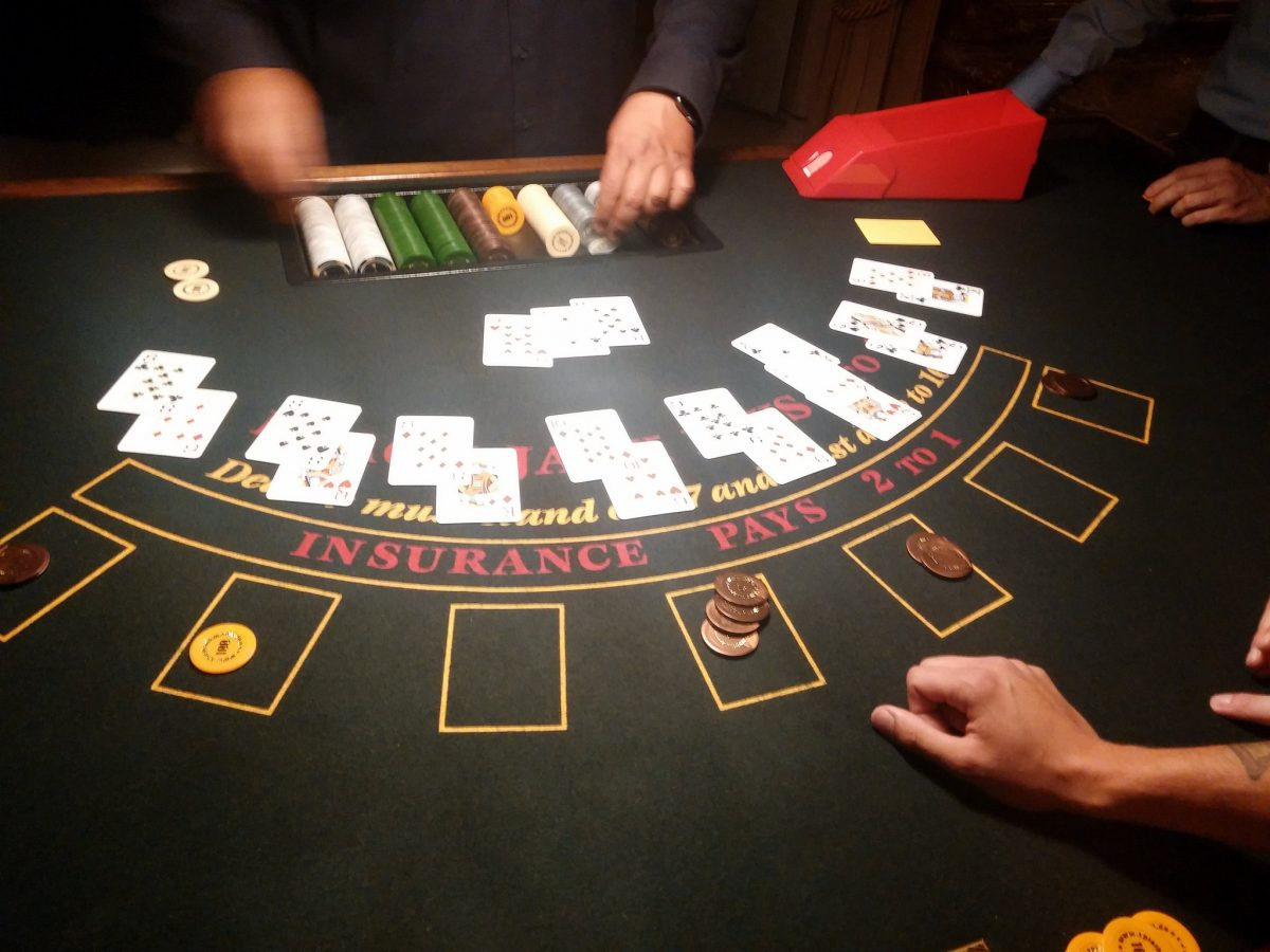Blackjack Tisch Casino