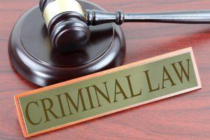 Criminal Law Hammer