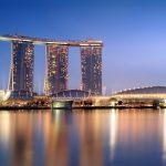 Kein Glücksspiel im vierten Marina Bay Sands Tower in Singapur