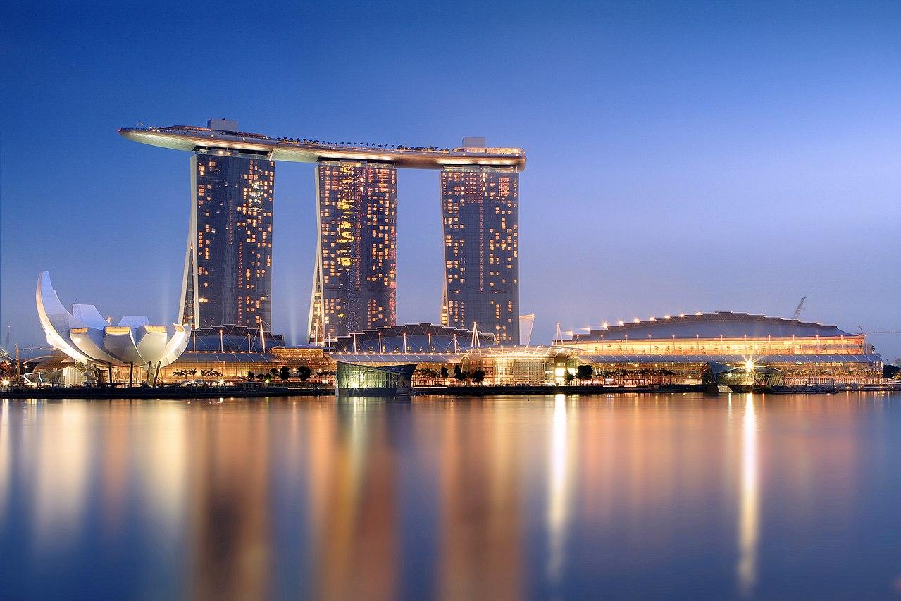Marina Bay Sands Resort Singapur