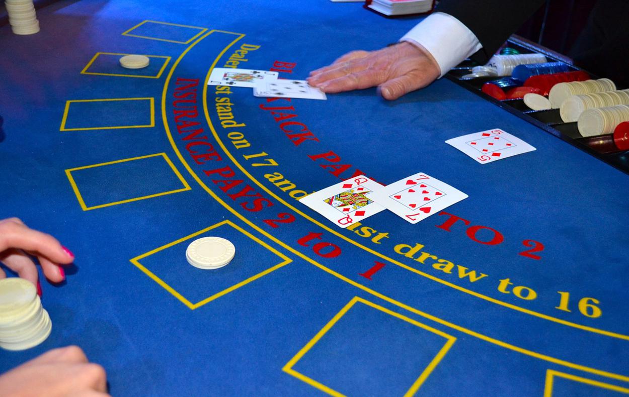 Kartenspiel Croupier