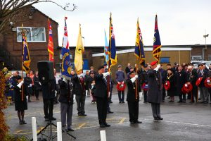 Veteranen der Royal British Legion